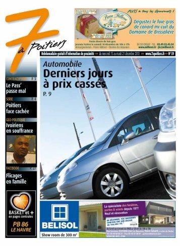 n° 59 voir ce numéro - 7 à Poitiers