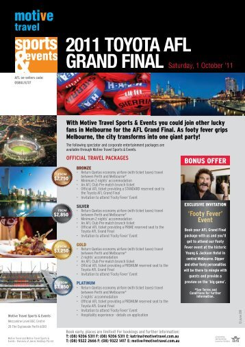 2011 toyota afl grand final
