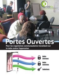 Portes Ouvertes Defis et Solutions - COCo