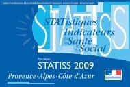 STATistiques Indicateurs Santé Social - ARS Paca