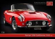 Ferrari 250 California SWB1960 - CMC