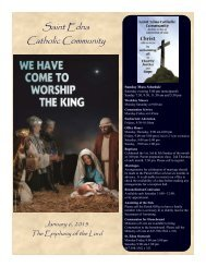 Jan 6 - St. Edna Catholic Church