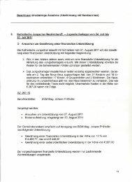 Beschluss: einstimmige Annahme (Abstimmung mit Handzeichen) 8 ...