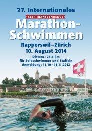Ausschreibung - Sri Chinmoy Marathon Team - Schweiz