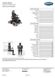 C500(S) Miniflex _2012.pdf - Permobil