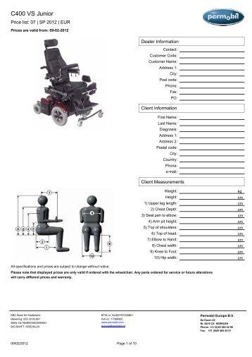 C400 VS junior _2012.pdf - Permobil