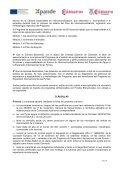 Modelo de Convocatoria Programa Apoyo a la Expansión ... - Page 6