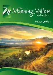 Visitor guide - Manning Valley