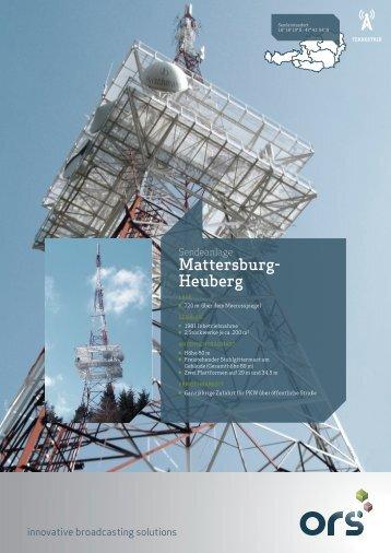 Senderfolder Mattersburg Heuberg 2012/02 - ORS