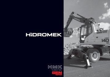 140 W Gen de la serie - Catálogo Español - Hidromek