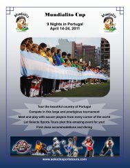 Mundialito Cup - Selects Sports