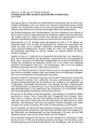 Volksmarine der DDR. Deutsche Seestreitkräfte im ... - AGGI-INFO.DE