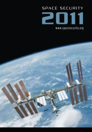 Space Security 2011 Report - Secure World Foundation