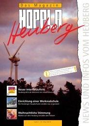 NEWS UND INFOS VOM HEUBERG - Iremia Kapellen