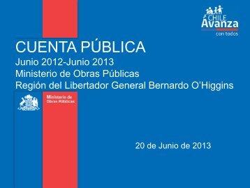 Proyectos 2012-2013 - MOP