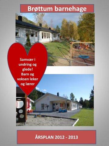 Årsplan 2012-2013 - Ringsaker kommune