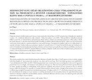 hodnocení vlivu délky sklizňového cyklu výmladkové plan- táže na ...