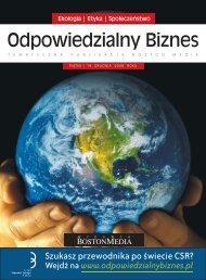odpowiedzialny biznes.indd - Forum Odpowiedzialnego Biznesu