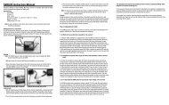 SR3520 Instruction Manual - Robot MarketPlace