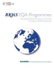 RIQAS EQA Programmes
