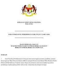 Surat Pekeliling Bil 3 Tahun 2002 - Majlis Bersama Jabatan KKR
