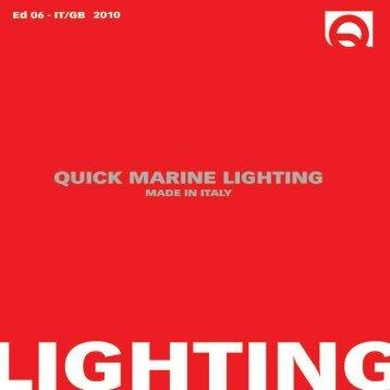 QUICK Marine Lighting - Oceansailing.ca
