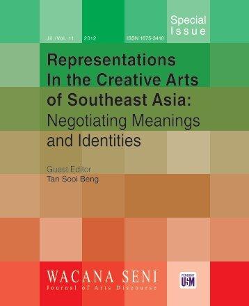 special issue - Wacana Seni - Universiti Sains Malaysia