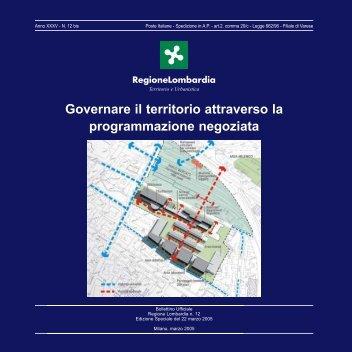 Governare il territorio attraverso la ... - Lombardia Mobile