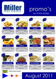 AUGUST 2011.pdf - Miller Food Service