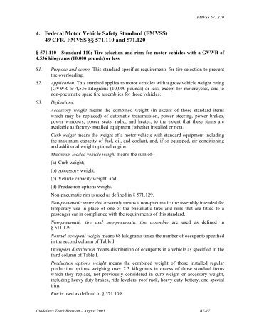 Sae j732 revised jun92 ra for Federal motor vehicle safety standards