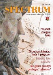 žurnalo versiją - VU naujienos - Vilniaus universitetas
