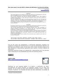 Dos casos para el uso de WXIS - Eventos.bvsalud.org