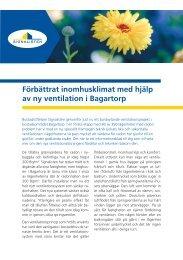 Förbättrat inomhusklimat med hjälp av ny ventilation i ... - BeBostad.se