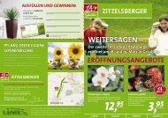 WeiterSagen – Der zweite 1a garten zitzelsberger eröffnet am 18 ...