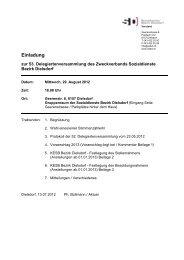 Einladung DV 12.08.29 - Zweckverband Sozialdienste Bezirk Dielsdorf