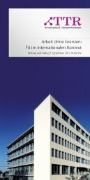 Arbeit ohne Grenzen - Proesler Kommunikation GmbH