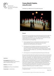 FrauenMusikProjekte:Layout 1 - Gsb.hmtm-hannover.de