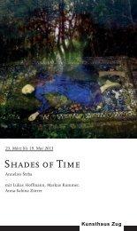 Einladung Shades of Time - Strba