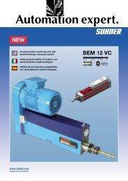 NEW BEM 12 VC - Suhner Automation Expert