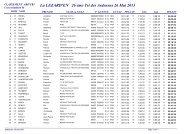 classement general triathlon - Club de triathlon de Soissons
