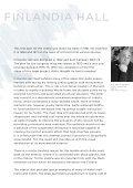 ALVAR AALTO & FinLAnDiA HALL - Finlandia-talo - Page 3