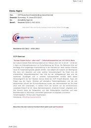 12-02-14 INformationsseminar ´Europa fördert Kultur´, Bonn
