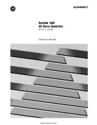 Allen Bradley bulletin 1391 manual - Northern Industrial