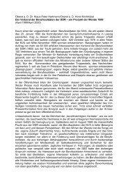 Der Verband der Berufssoldaten der DDR - AGGI-INFO.DE