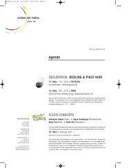 Rundbrief Februar 2013 - Cantina del Mulino