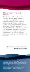 Baje la versión PDF - Breastcancer.org - Page 7