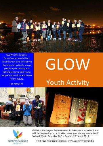 GLOW Youth Activity Pack - Youth Work Ireland