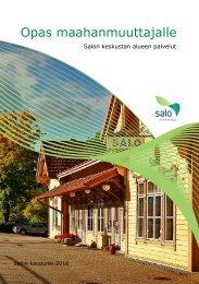 Opas maahanmuuttajalle (SUOMI) - Salon kaupunki