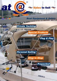Private Yachting Special Products Boat Equipment ... - cuatc.eu