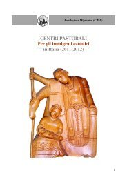 centri giugno 2012.pdf - Chiesa Cattolica Italiana